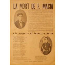 LA MORT DE F. MACIA
