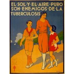 EL SOL Y EL AIRE PURO ENEMIGOS TUBERCULOSIS