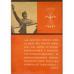"""FRANCO """"LA JUSTICIA SOCIAL SERA..."""""""