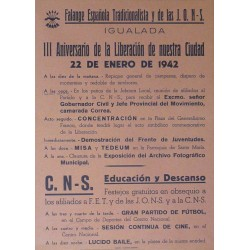 IGUALADA. FALANGE ESPAÑOLA 1942