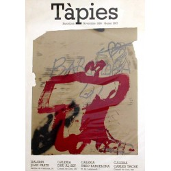 TAPIES. BARCELONA 1986