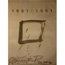 TAPIES. 1881 PICASSO 1981