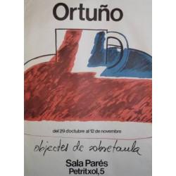 ORTUÑO. OBJECTES DE SOBRETAULA