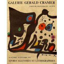 MIRÓ. GALERIE GÉRALD CRAMER