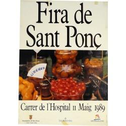 SANT PONÇ 1989