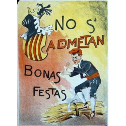 NO S'ADMETAN BONAS FESTAS