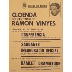 BERGA CLOENDA DEL CENTENARI DE RAMON VINYES