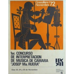 """1ER. CONCURSO MUSICA DE CAMARA """"JOSEP MA. RUERA"""""""