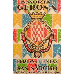 GERONA FERIAS Y FIESTAS DE SAN NARCISO 1960