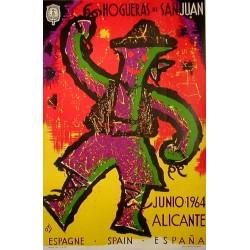 HOGUERAS DE SAN JUAN 1964