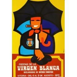 FIESTAS DE LA VIRGEN BLANCA VITORIA 1972