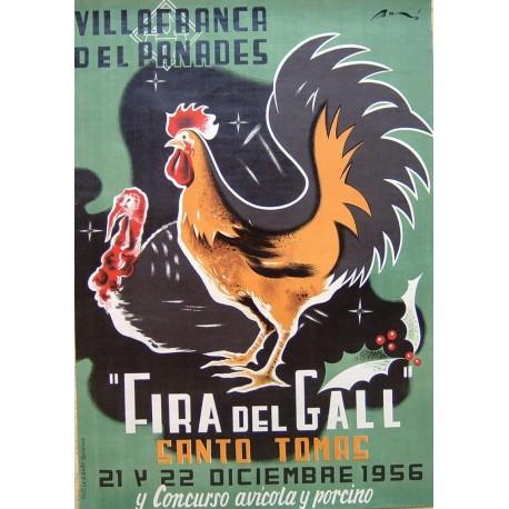 FIRA DEL GALL 1956 VILAFRANCA DEL PANADES