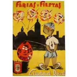 CIUDAD REAL FERIAS Y FIESTAS 1957