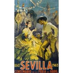 1847 SEVILLA 1948 CENTENRIO DE LA FERIA DE ABRIL