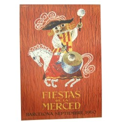 FIESTAS DE LA MERCED,1960. BARCELONA