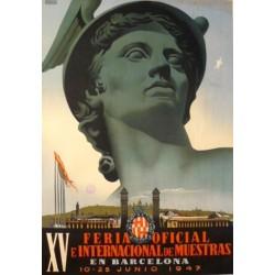 XV FERIA DE MUESTRAS BARCELONA 1947