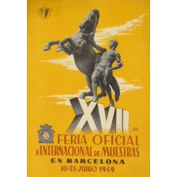 XVII FERIA DE MUESTRAS BARCELONA 1949