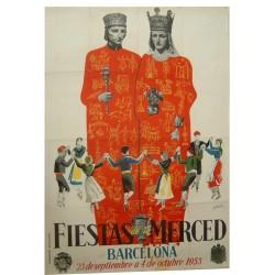 FIESTAS DE LA MERCED 1953. BARCELONA