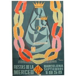 FIESTAS DE LA MERCED 1958. BARCELONA