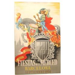 FIESTAS DE LA MERCED.1954.. BARCELONA