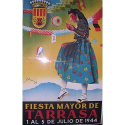 FIESTA MAYOR DE TARRASA 1944