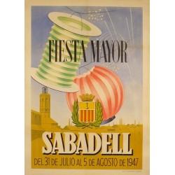 SABADELL FIESTA MAYOR 1947