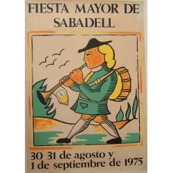 SABADELL FIESTA MAYOR 1975