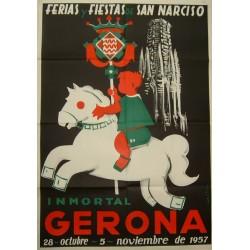 GERONA FERIAS Y FIESTAS DE SAN NARCISO 1957