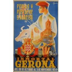 GERONA FERIAS Y FIESTAS DE SAN NARCISO 1954
