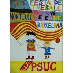 1979 FESTA DEL TREBALL. PSUC