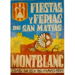 MONTBLANC FIESTAS Y FERIAS DE SAN MATIAS