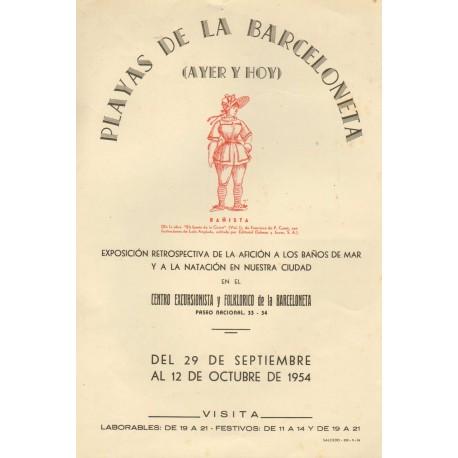 PLAYAS DE LA BARCELONETA (AYER Y HOY)
