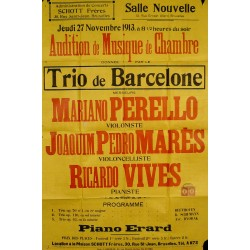 AUDITION TRIO DE BARCELONA