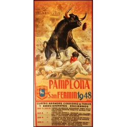 PAMPLONA SAN FERMIN 1948