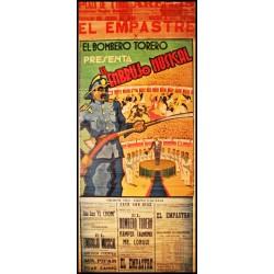 PLAZA TOROS ARENAS. 1940. EL BOMBERO TORERO EMBRUJO MUSICAL