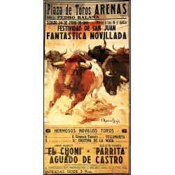 PLAZA TOROS ARENAS. 1944. FESTIVIDAD DE SAN JUAN