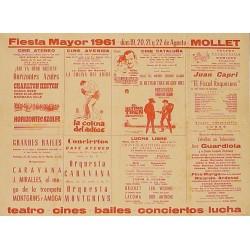FIESTA MAYOR 1961 - MOLLET