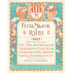 FESTA MAJOR DE RUBI 1921