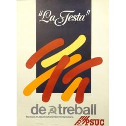LA FESTA DEL TREBALL. PSUC