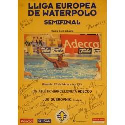 LLIGA EUROPEA DE WATERPOLO SEMIFINAL