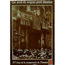 1977. ANY DE LA RECUPERACIÓ...
