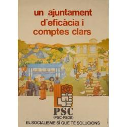 UN AJUNTAMENT D'EFICÀCIA...PSC