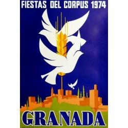 FIESTAS DEL CORPUS 1974 GRANADA