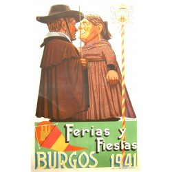 BURGOS 1941 FERIAS Y FIESTAS