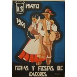 CACERES 1941 FERIAS Y FIESTAS