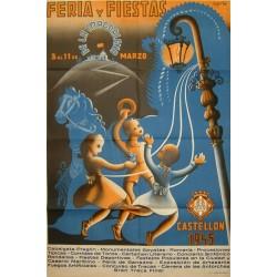 CASTELLON FERIA Y FIESTA 1945