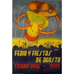 CIUDAD REAL 1953 FERIAS Y FIESTAS