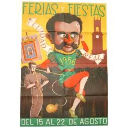 CIUDAD REAL 1956 FERIAS Y FIESTAS