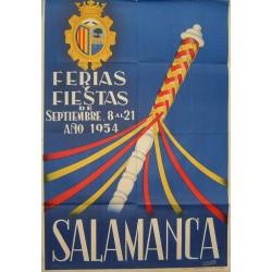 SALAMANCA 1954 FERIA Y FIESTAS