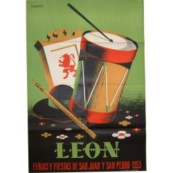 LEON 1953 FERIAS Y FIESTAS